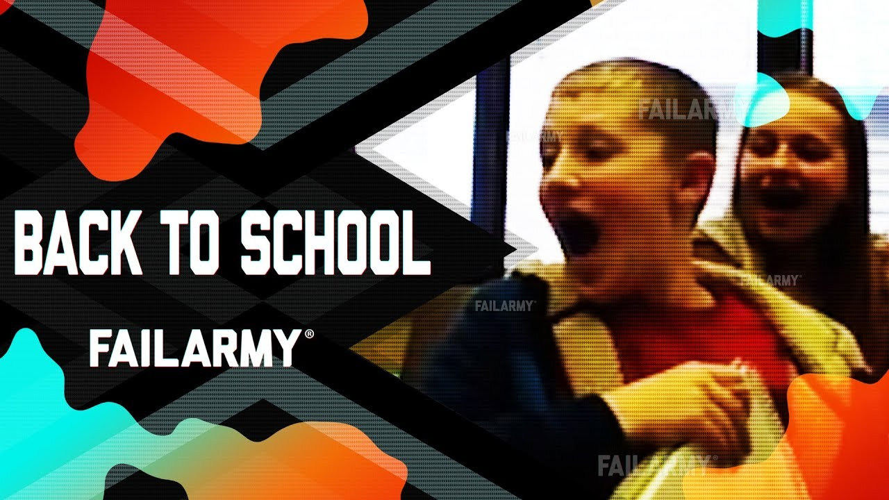 Back to school Fail Compilation